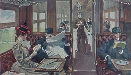 Первый поезд дальнего следования прибыл на вокзал Самары 22 марта 1898 г.