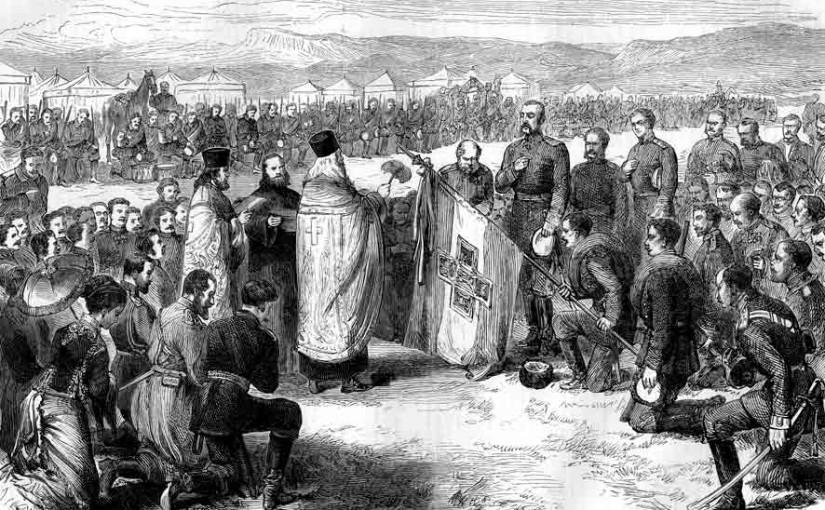 Небольшой рассказ о том, как было освящено Самарское знамя