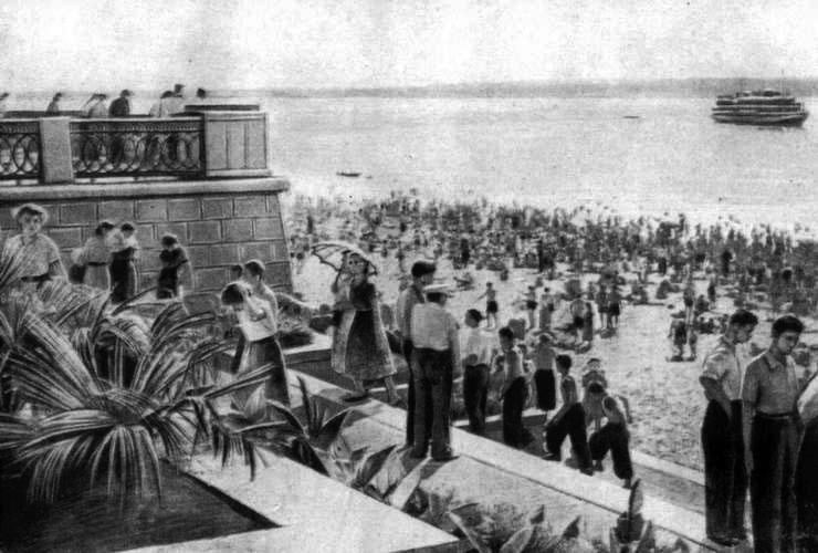 29 июня день рождения набережной в Самаре, ее открыли в 1957 г.