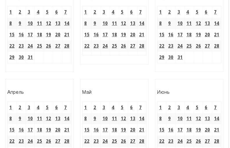 Интерактивный исторический календарь Самарской области
