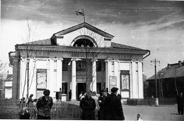 """Кинотеатр """"Комсомолец"""" в 1954 г."""