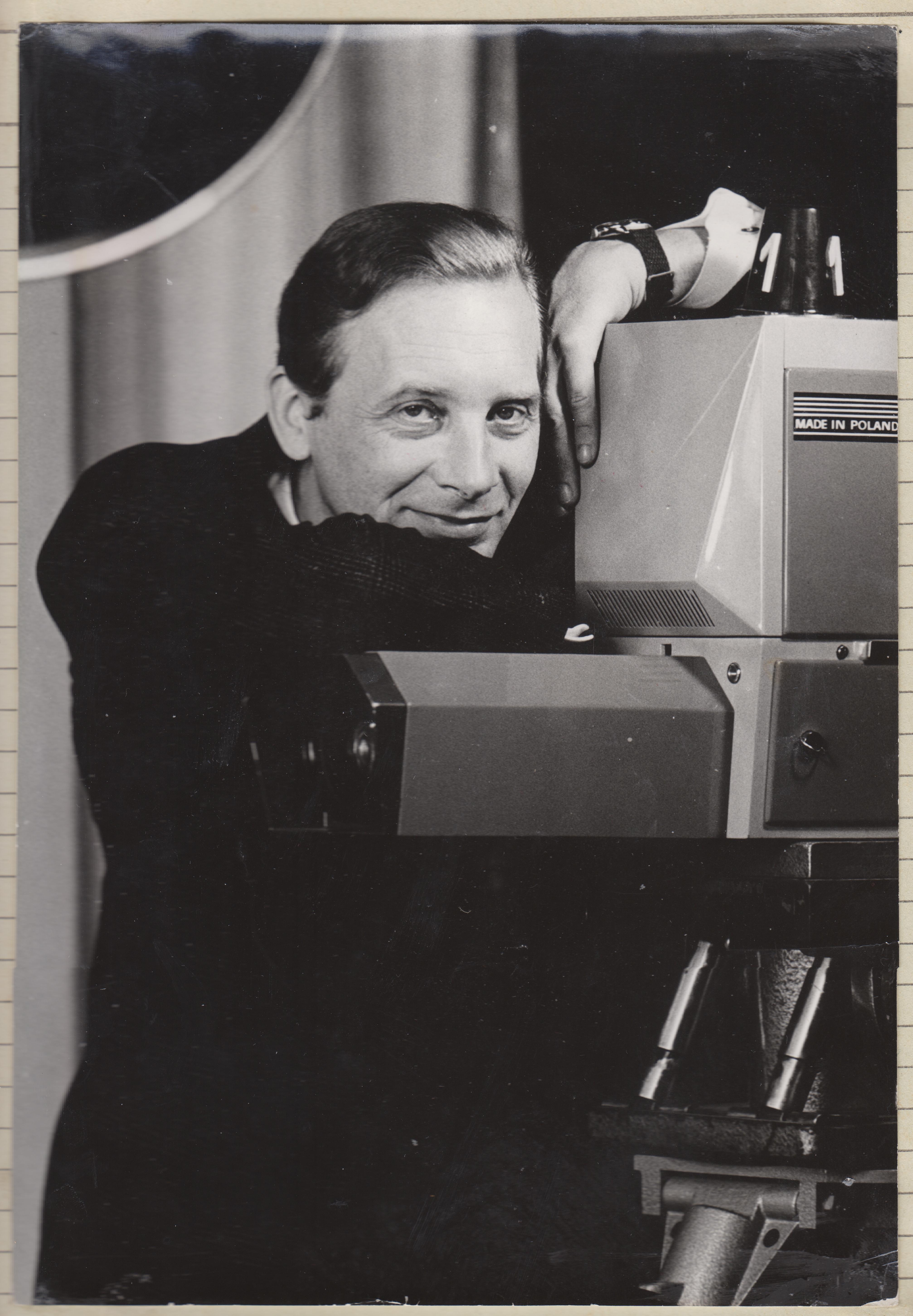 Ян Сузин, диктор Польского телевидения, ведущий концертов Анны Герман