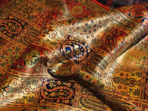 Персидский шелк
