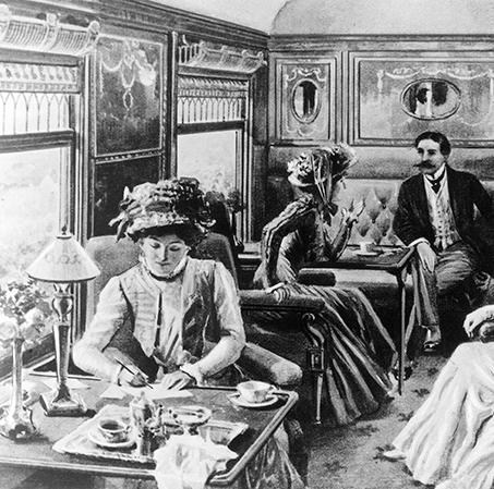 Пульмановский вагон образца 1867 г.