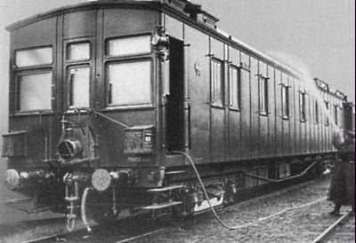 Вагон I класса Сибирского поезда прямого сообщения