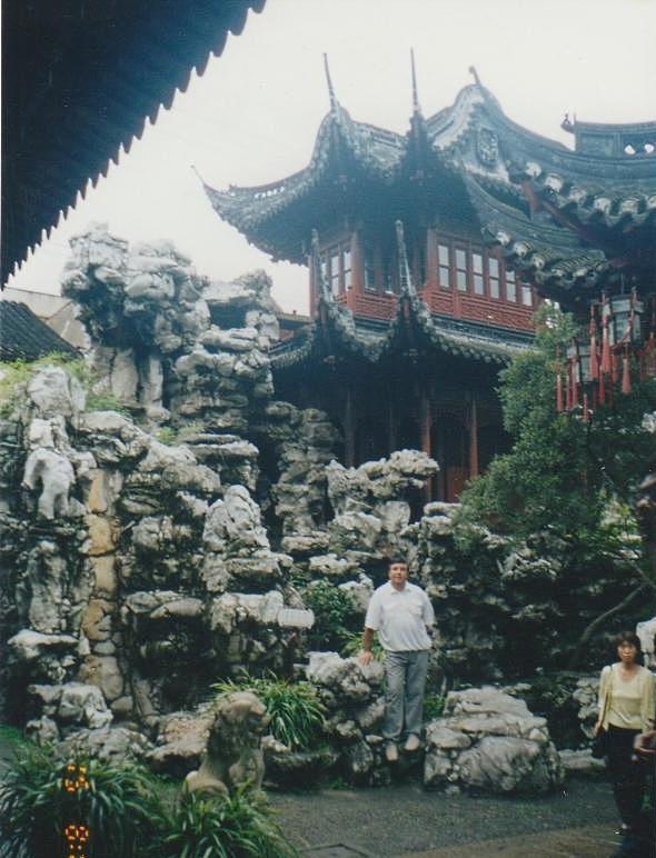 Уголок старого города, центр туризма в Шанхае