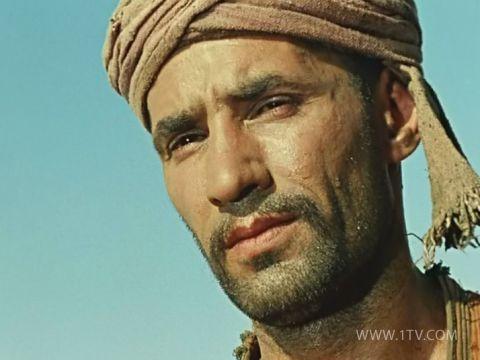 Саид, первая роль артиста в кино.