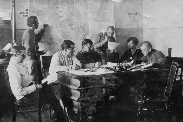 Оперотдел в Самаре 1919 г.