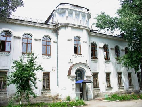 Современный вид поликлиники на ул. Молодогвардейской