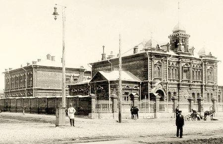 Здание Ольгинской общины сестер милосердия РОКК. Самара. Начало 1900-х