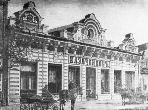 В этом здании было Дворянское собрание