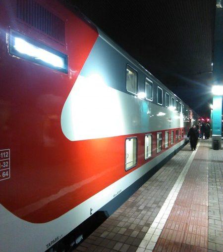 Исторический календарь Самары: 3 декабря. В этот день «вздорожало сено: дошло до 8 коп. серебром за пуд» (1855), в городе впервые появилось уличное освещение (1860),  первый двухэтажный поезд Самара-Москва (2015)