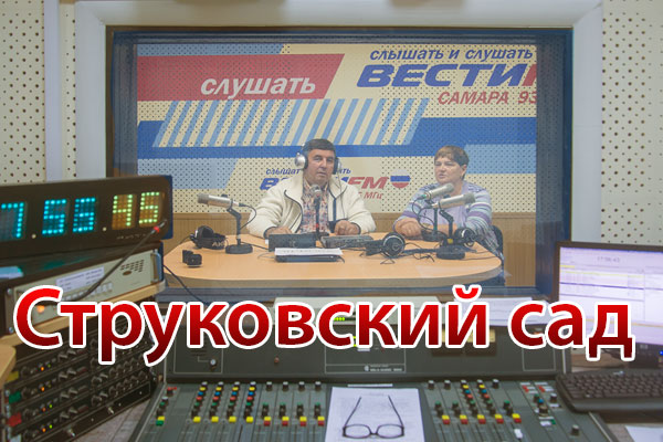 Радиопрограмма «Струковский сад» (№ 29, вышла в эфир 27.08.2015)